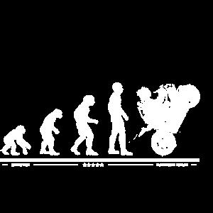 Evolution Motorrad Love Liebe Bike Geschenkidee