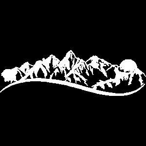 Mountain berge Wandern