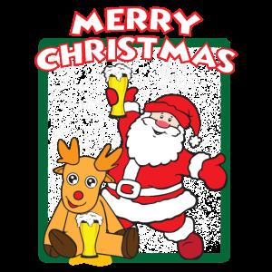 Lustiger Weihnachtsmann - Weihnachten - Geschenk