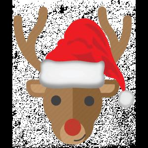 Lustiges Rentier - Weihnachten - Geschenk