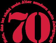 Jahrgang 1970 Geburtstagsshirt: 1970 - Jahrgang 70