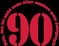 Jahrgang 1990 Geburtstagsshirt: 1990 - Jahrgang 90