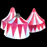 Zirkus Zelt Aquarell