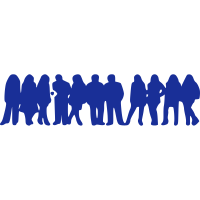 Gruppe Menschen