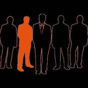 Männer in Anzügen