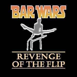 Lustige Jungen Bar Wars Gymnastik Rache des Flip
