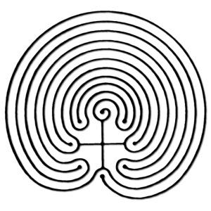 LabIRRinth Logo 2001 Chakra Labyrinth