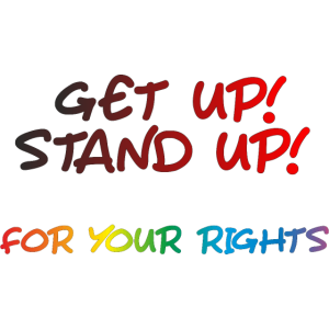 get up stand up - Peace, Freedom, Freiheit