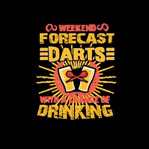 Wochenend Vorhersage: Dart und Bier