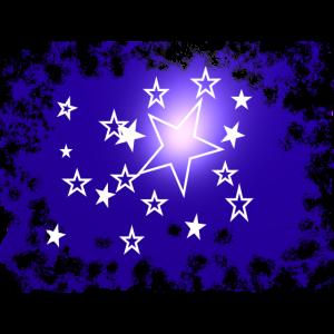 sterne leuchtend
