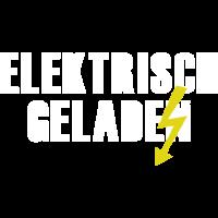 elektrisch geladen blitz
