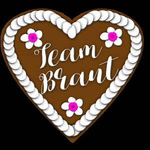 Team Braut Lebkuchenherz Jungesellin Herz Geschenk