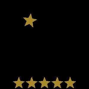 Sternekoch Kochmütze 5 Sterne Koch Chefkoch Grunge