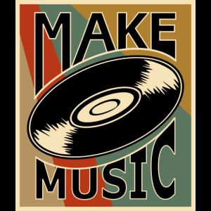 Musik DJ Schallplatte Vinyl Retro Vintage Alt