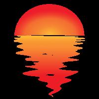 Sonnenuntergang Sunset Tshirt