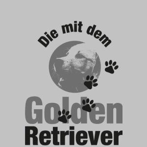 DIE MIT DEM GOLDEN RETRIEVER - Pfotenabdruck Hund