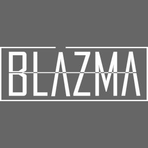 Blazma White Logo