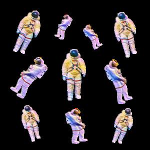 Astronaut , Astronauten , Kosmonaut, Kosmonauten
