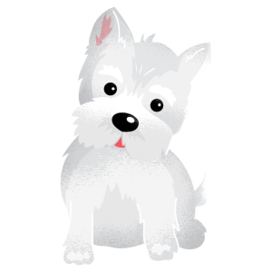 Westie West Highland Terrier Hund Tshirt Geschenk