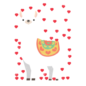 Geschenk Peru Lama Anden Valentinstag Freundin Zoo