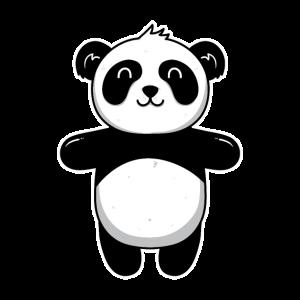 Süßes Tier Baby Panda Pandas Pandabär