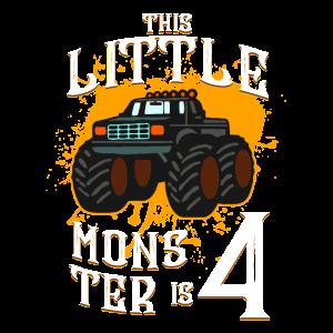 Monster Truck Reifen Klein 4 Jahre I Geschenk