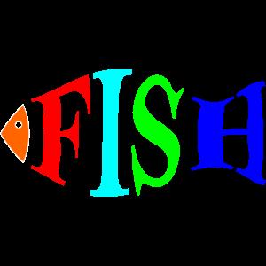 Fisch bunt