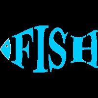 Fisch türkis