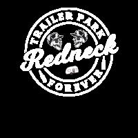 Lustige Trailer Park Redneck Männer Frauen Mobile Home Park