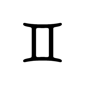 Zwillinge - Sternzeichen - Geschenkidee