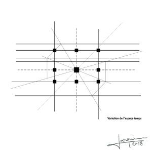Variation de l'espace Temps By Joaquin
