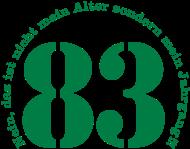 Jahrgang 1980 Geburtstagsshirt: 1983 - Jahrgang 83