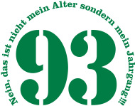 Jahrgang 1990 Geburtstagsshirt: 1993 - Jahrgang 93