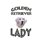 GOLDEN RETRIEVER LADY - Hundekopf