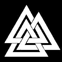 Valknut Vikings Odin Zeichen Wotansknoten