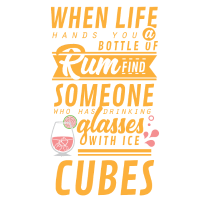 Eine Flasche Rum, Geschenk, T-Shirt, Sprüche,