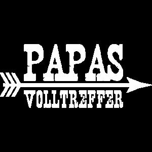 Papa Volltreffer Baby Kind Kinder Geschenkidee