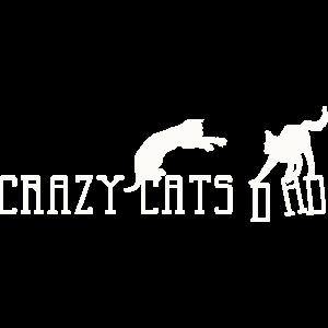 Crazy Cats Dad Fantasy Silhouette 2
