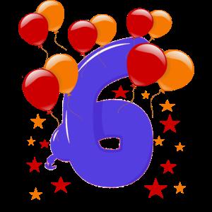 6. Geburtstag , Sechster Geburtstag 6