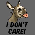 """Ane """"I don't care!"""" (texte noir)"""