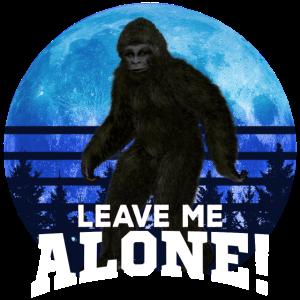 Bigfoot Lassen Sie mich allein verstecken und suchen Champion Foto TShirt
