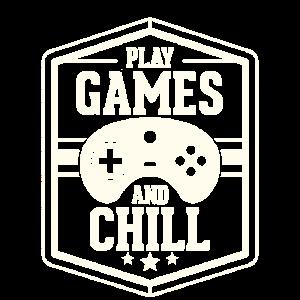 Spielen Sie Spiele Und Ausruhen