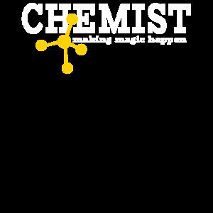 Chemie Chemiker Atom Wissenschaft Spruch Geschenk