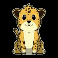 Tierkind Leopard Niedlich Süß Geschenk