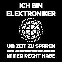 Ich bin Elektroniker