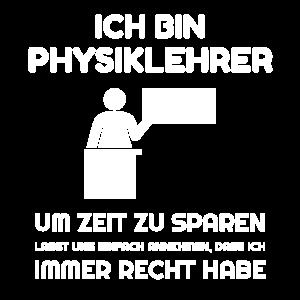 Ich bin Physiklehrer