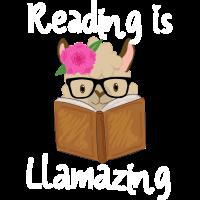 Reading is Llamazing