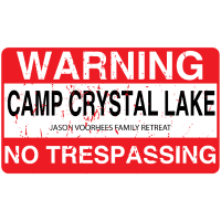 Crystal Lake Camp Kein Hausfriedensbruch