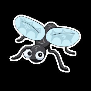 Süße Fliege Insekt comic baby tierlieb geschenk