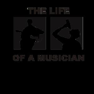 Musik trinken Musiker Beats I love cool lustig